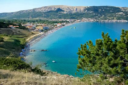 Watch live web cams in Baška, island of Krk in Croatia by BsWireless.net